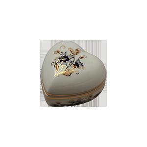 ZSOLNAY 1046/1/059 SZÍVBONBONIER