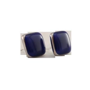 ZSOLNAY 10648/8423 Fülbevaló kék