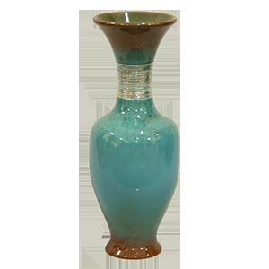 ZSOLNAY 5802/2 hasas váza Bukrán E.