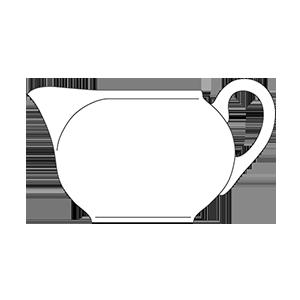 ZSOLNAY NYÁR TEA TEJKANNA