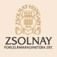 ZSOLNAY P.GUCCI TEACUKORDOBOZ FEDŐ