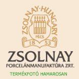 ZSOLNAY POMPADOUR III SÜTEMÉNYES KÉSZLET 7 RÉSZES