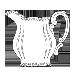 ZSOLNAY STAFÍR TEA TEJKANNA